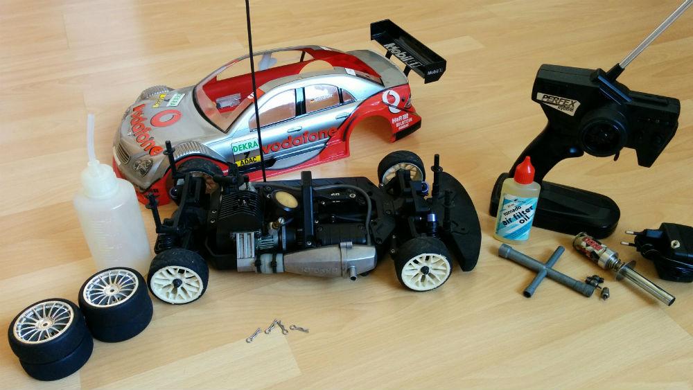 voiture thermique 1 10 - rc modelisme